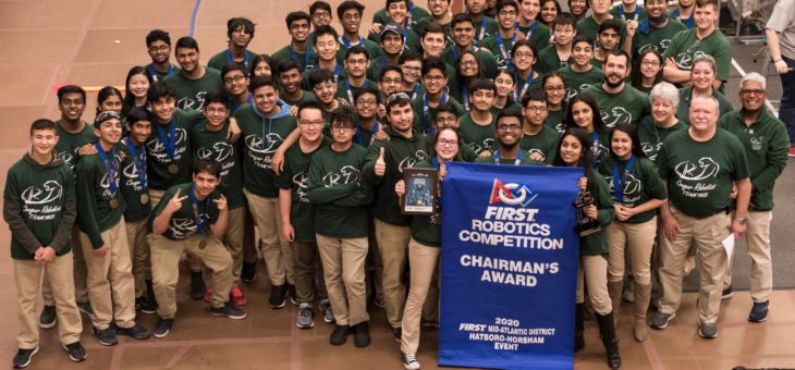 COVID-19 Cancels MHS Cougar Robotics' Season
